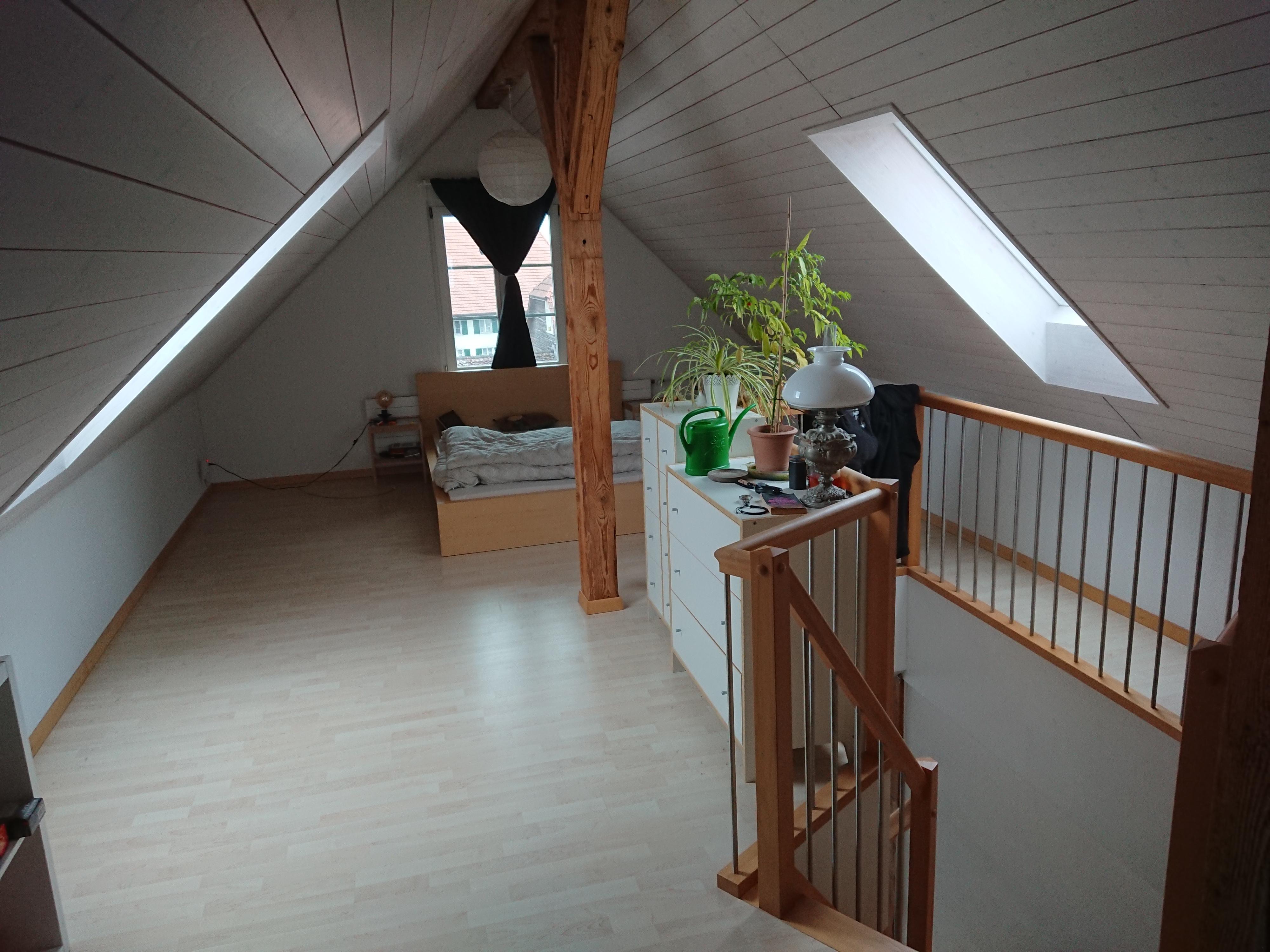 Miete: Maisonette-Dachwohnung